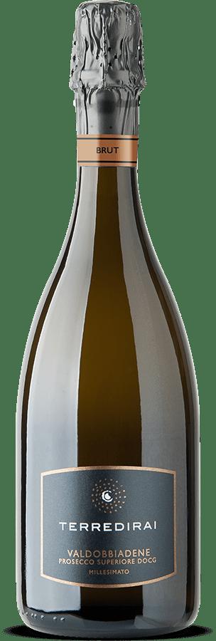 Prosecco docg brut millesimato Conegliano Valdobbiadene