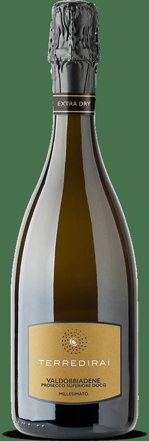 Prosecco docg extra dry millesimato Conegliano Valdobbiadene